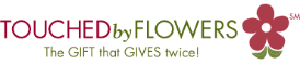 Touched by Flowers logo
