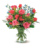 touched by flowers - flower arrangement